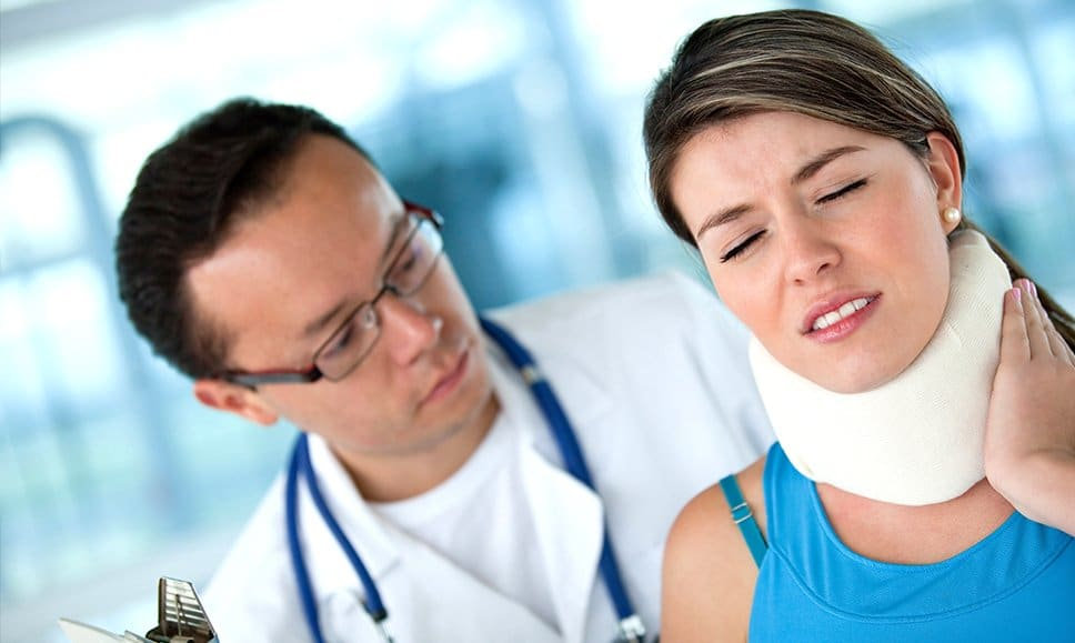 chiropractic neck pain treatment for injury