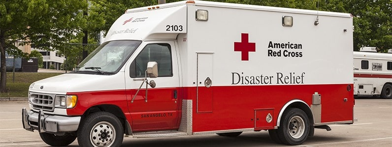 red cross day disaster relief