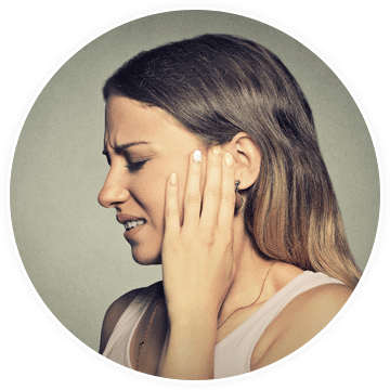 a woman needing pain treatment for trigeminal neuralgia