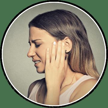 a woman needing pain treatment for trigeminal neuralgia